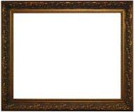 Klassiek bronsframe met het knippen van weg Royalty-vrije Stock Foto's