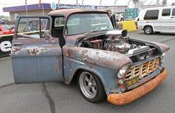 Klassiek Chevrolet neemt Vrachtwagen op Stock Fotografie