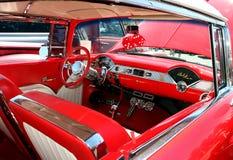 Klassiek Chevy Belaire Interior Royalty-vrije Stock Afbeelding