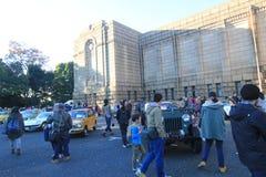 Klassiek de Autofestival van Tokyo in Japan Stock Foto