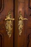 Klassiek deurhandvat Stock Afbeeldingen