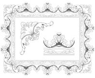 Klassiek frame Stock Afbeelding