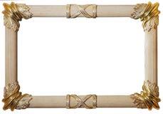 Klassiek frame met het knippen van weg Royalty-vrije Stock Afbeeldingen