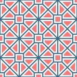 Klassiek geometrisch lineair roman patroon stock illustratie