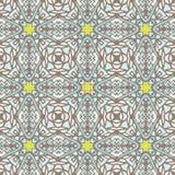 Klassiek geometrisch naadloos uitstekend tegelspatroon Stock Foto's