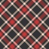 Klassiek geruit Schots wollen stof, Picknicktafelkleed, Gingang, Buffels, Lamberjack, Vrolijke de plaid naadloze patronen van de  stock illustratie