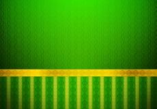 Klassiek Groen Behang Stock Afbeelding