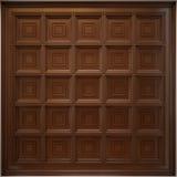Klassiek houten caissonplafond Stock Afbeeldingen