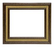 Klassiek houten frame royalty-vrije stock fotografie