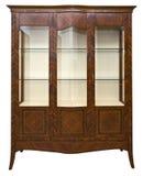 Klassiek houten kabinet royalty-vrije stock foto