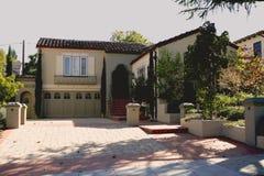 Klassiek Huis op het Schiereiland van het zuiden van Californië van San Francisco. Royalty-vrije Stock Fotografie