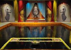 Klassiek Indisch dansstadium Royalty-vrije Stock Afbeelding