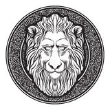 Klassiek Lion Emblem Stock Afbeelding