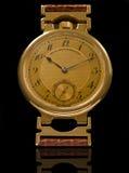 Klassiek luxehandhorloge Royalty-vrije Stock Foto's
