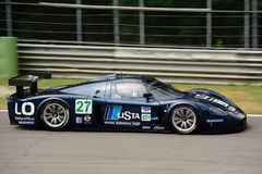 Klassiek Maserati MC12 in Monza Stock Fotografie