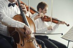 Klassiek muziekoverleg Royalty-vrije Stock Afbeeldingen