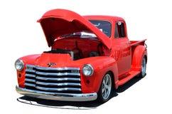 Klassiek neem vrachtwagen op Stock Foto
