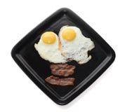 Klassiek ontbijt stock afbeelding