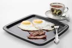 Klassiek ontbijt royalty-vrije stock foto's