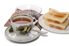 Klassiek ontbijt stock foto's