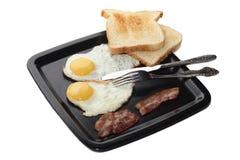 Klassiek ontbijt stock afbeeldingen