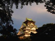 Klassiek Osaka Castle Stock Fotografie