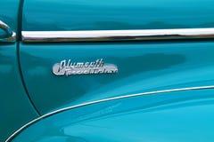 Klassiek oud Amerikaans autodetail Stock Afbeelding