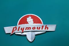 Klassiek oud Amerikaans autodetail Royalty-vrije Stock Fotografie