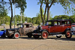 Klassiek oud Ford Cars Royalty-vrije Stock Foto's