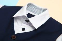 Klassiek overhemd en vest stock afbeelding