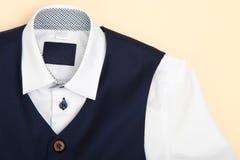 Klassiek overhemd en vest royalty-vrije stock foto's