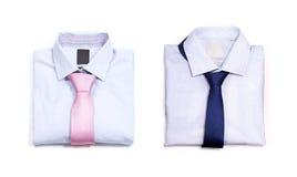 Klassiek overhemd twee Stock Afbeelding