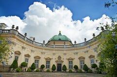 Klassiek paleis Royalty-vrije Stock Foto's