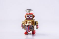 Klassiek robotspeelgoed stock foto's