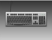 Klassiek toetsenbord Stock Afbeeldingen