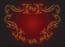 Klassiek vignet royalty-vrije illustratie