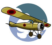 Klassiek Vliegtuig Royalty-vrije Stock Afbeelding