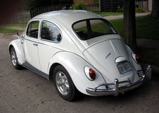 Klassiek Volkswagen Beetle Stock Afbeeldingen