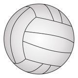 Klassiek volleyball, vectorillustratie Stock Foto