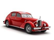 Klassieke 3d auto Stock Afbeelding