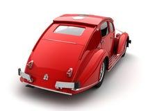 Klassieke 3d auto Stock Foto