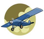 Klassieke Airplane2 Stock Afbeeldingen