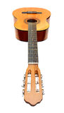 Klassieke akoestische gitaar Stock Foto's