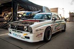 Klassieke Alfa Romeo-raceauto Stock Foto