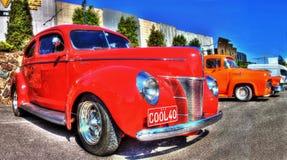 Klassieke Amerikaan 1940 Ford Deluxe Stock Fotografie