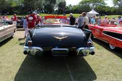 Klassieke Amerikaan tailfinned auto Royalty-vrije Stock Foto's