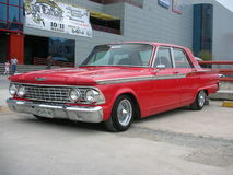 Klassieke Amerikaanse auto Stock Afbeelding