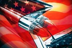 Klassieke Amerikaanse auto Stock Foto
