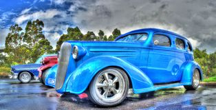 Klassieke Amerikaanse auto's Stock Afbeelding