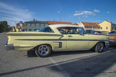 Klassieke Amerikaanse auto's, chevroletimpala Royalty-vrije Stock Fotografie